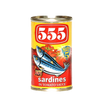 555 SARDINES IN TOMATO SAUCE HOT EASY OPEN CAN 155G