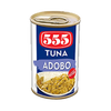 555 TUNA FLAKES IN ADOBO EASY OPEN CAN 155G