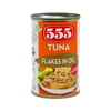 555 TUNA FLAKES IN HOT & SPICY EASY OPEN CAN 155G