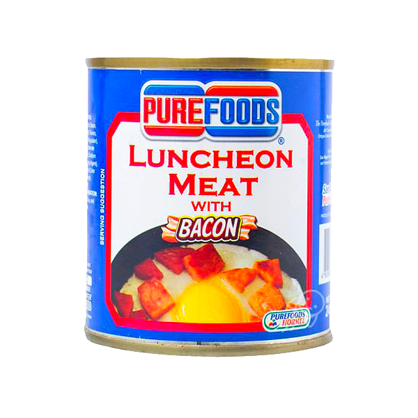 PUREFOODS LUNCHEON MEAT W/ BACON 240G