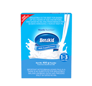 BONAKID STAGE 3 400 G 1 to 3 YEARS OLD POWDERED MILK DRINK FOR CHILDREN