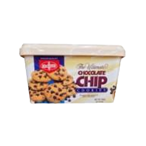 FIBISCO CHOCOLATE CHIP COOKIES 600G CAN