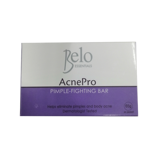 BELO ESSENTIALS ACNE PRO PIMPLE-FIGHTING BAR 65G
