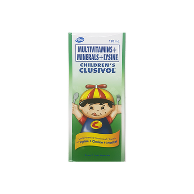 CLUSIVOL SYRUP FOR CHILDREN 120ML
