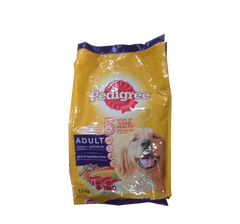 PEDIGREE ADULT LAMB AND VEGETABLES FLAVOUR 1.5KG