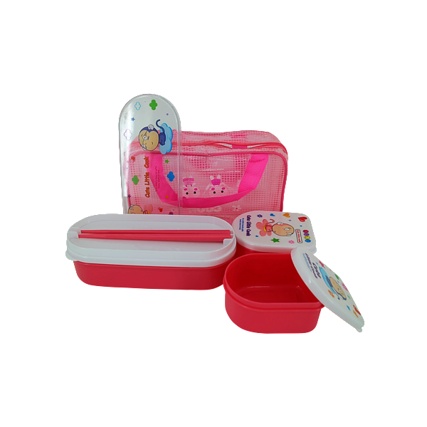 LUNCH KIT SET PINK