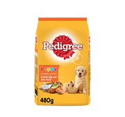 PEDIGREE PUPPY CHICKEN & EGG FLAVOUR 480G/500G