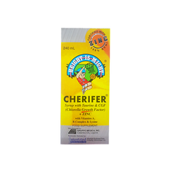 CHERIFER WITH ZINC 240ML