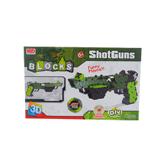 3D BLOCKS SHOTGUN SET GREEN