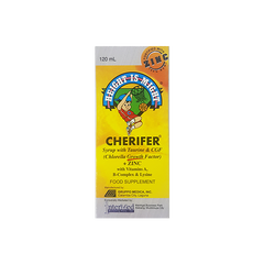 CHERIFER W/ ZINC SYRUP 120ML