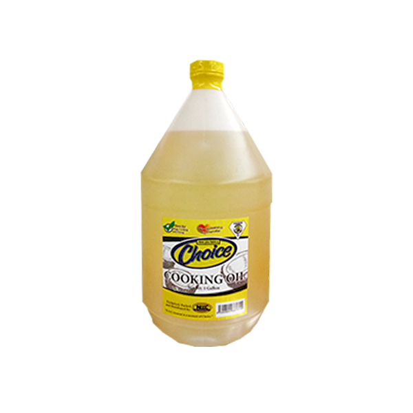 CHOICE COCONUT OIL W/ CONTAINER 1GAL (3.2KG)