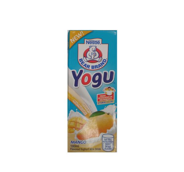 BEAR BRAND YOGU MANGO 180ML