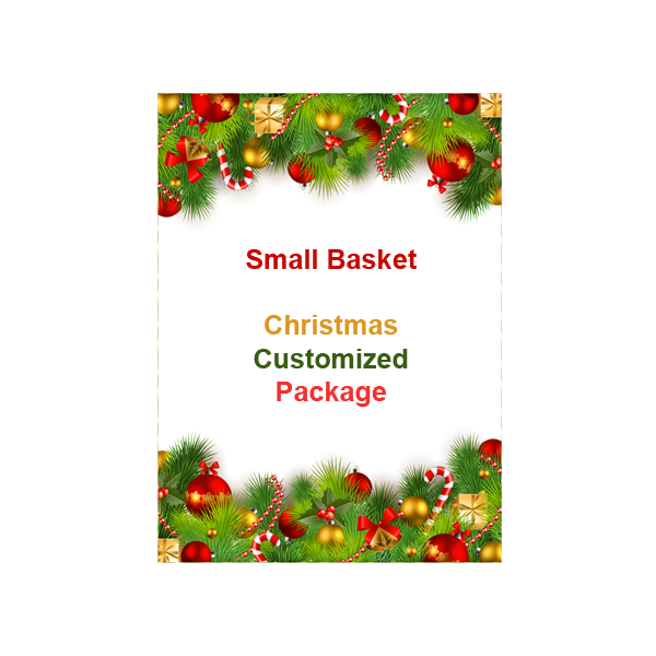 SMALL BASKET CHRISTMAS CUSTOMIZED PACKAGE PHP550.00