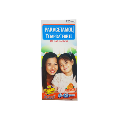 TEMPRA FORTE ORANGE 120ML