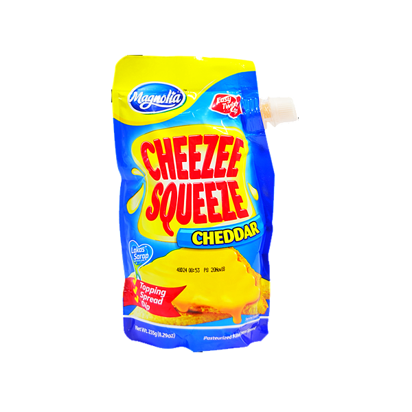 MAGNOLIA CHEEZEE SQUEEZE PLAIN CHEDDAR 235G