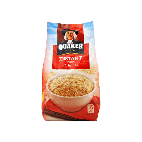 QUAKER INSTANT OATMEAL JUST ADD WATER 400G