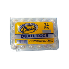 CHOICE EGG QUAIL 24S