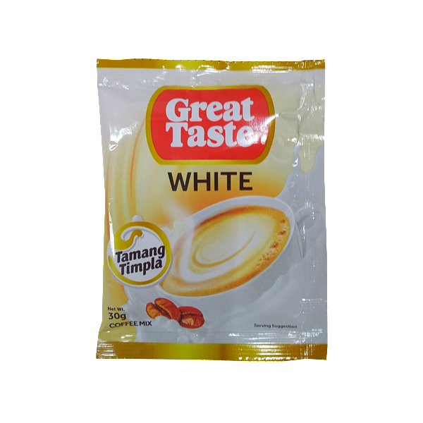 GREAT TASTE WHITE SINGLE PACK 30GX10S