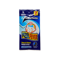 KOOLFEVER COOLING GEL SHEET KIDS 6S