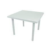 COFTA TABLE 32X32 SQUARE GRANITE WHITE