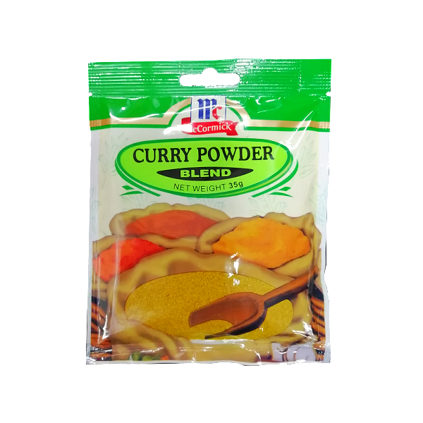 MCCORMICK CURRY POWDER BLEND 35G