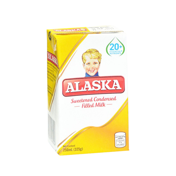 ALASKA SWEETENED CONDENSED FILLED MILK 250ML