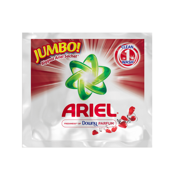 ARIEL LAUNDRY POWDER WITH FRESHNESS OF DOWNY 650G