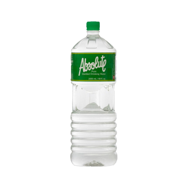 ABSOLUTE DISTILLED DRINKING WATER 2L