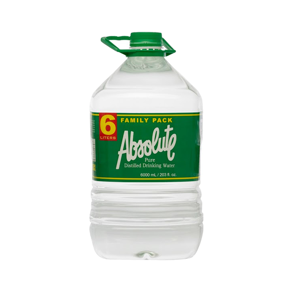 ABSOLUTE DISTILLED DRINKING WATER 6L