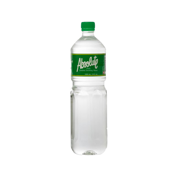 ABSOLUTE PURE DISTILLED DRINKING WATER 1.5L