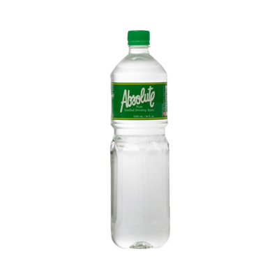 ABSOLUTE PURE DISTILLED DRINKING WATER 1L