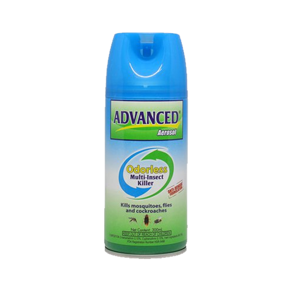 ADVANCE/BLATTANEX AEROSOL MULTI-INSECT SPRAY WATERBASED 300ML