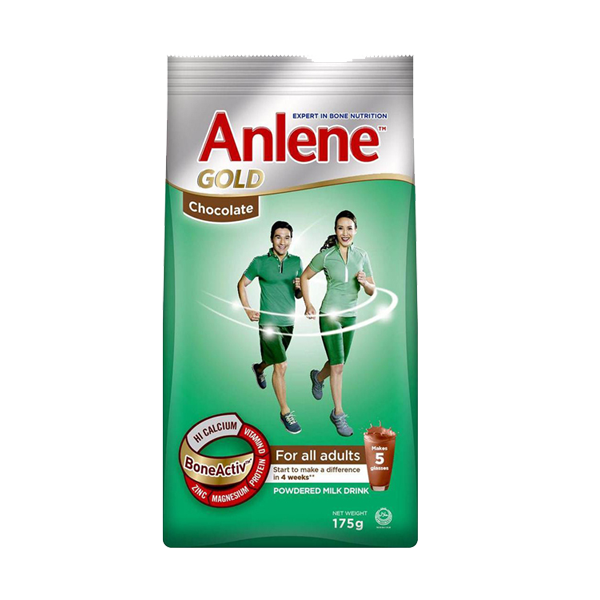 ANLENE GOLD CHOCO 175G SUP SAVE 8