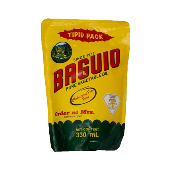 BAGUIO COOKING OIL SUPREME 330ML