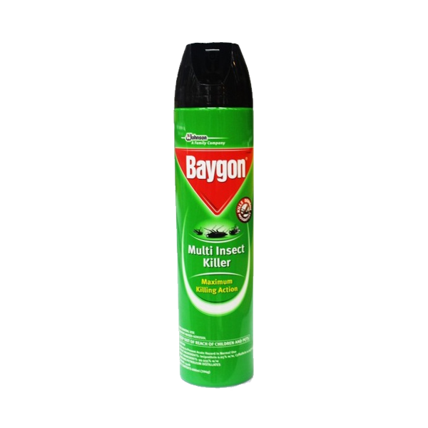 BAYGON MULTI INSECT KILLER KEROSENE AEROSOL 500ML
