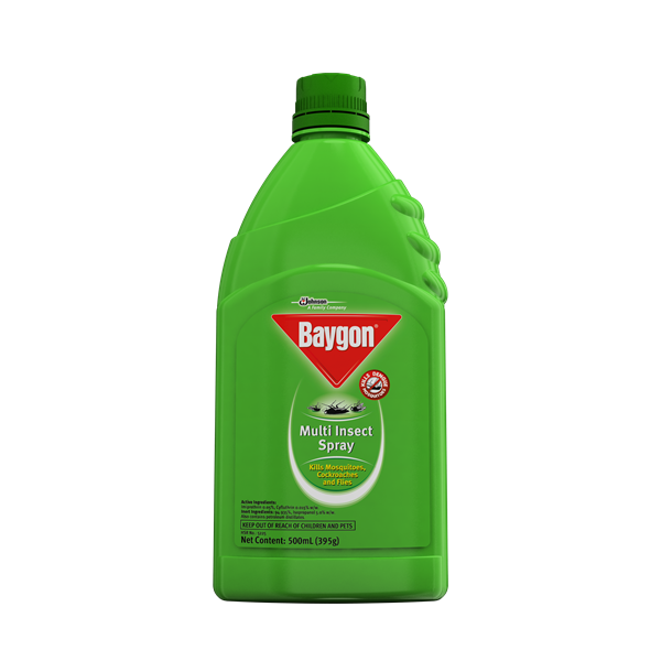 BAYGON INSECT SPRAY KEROSENE BASE LIQUID 100ML