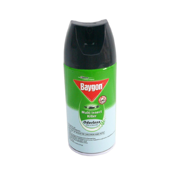 BAYGON MULTI INSECT KILLER ODORLESS 300ML
