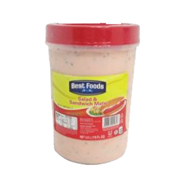 BEST FOODS SANDWICH SPREAD SALAD MATE 3.5L