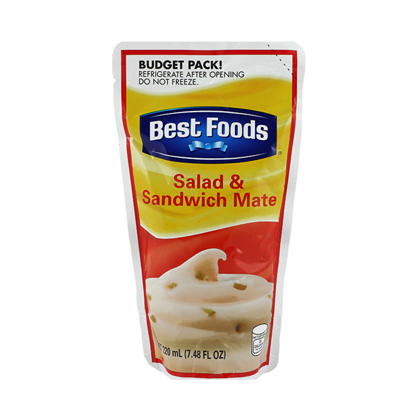 BEST FOODS SANDWICH SPREAD SALAD MATE 220ML