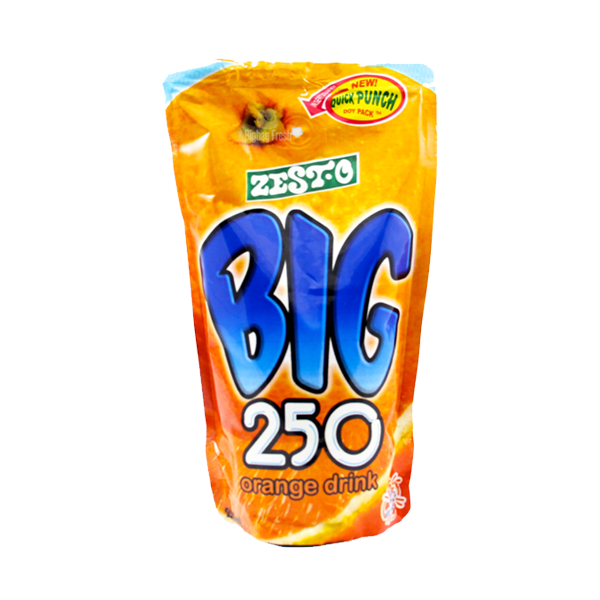 BIG 250 JUICE DRINK ORANGE 250ML X 10