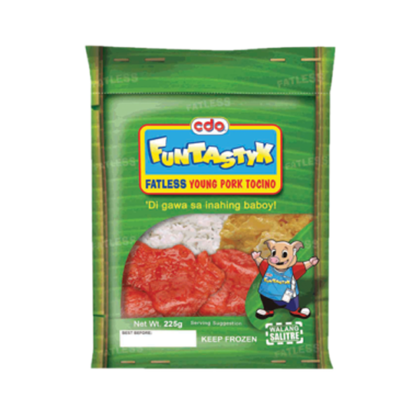 CDO FUNTASTYK YOUNG PORK TOCINO 225G