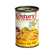 CENTURY TUNA FLAKES IN OIL EASY OPEN CAN 155G