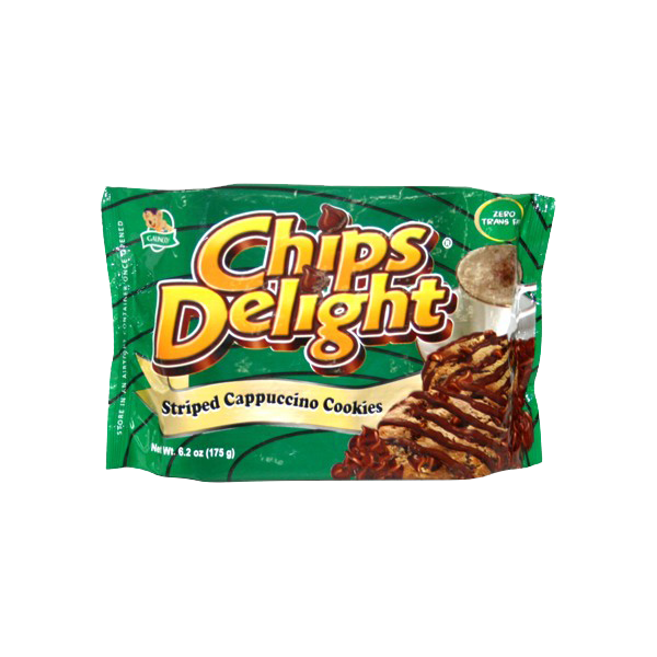CHIPS DELIGHT STRIPED CAPPUCCINO COOKIES