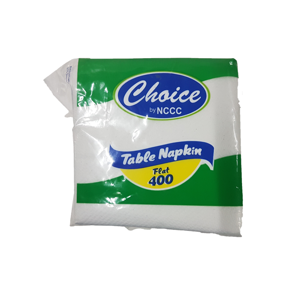 CHOICE FLAT TABLE NAPKIN 400S