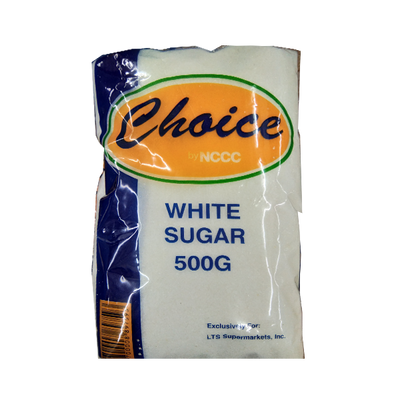 CHOICE SUGAR WHITE 500G