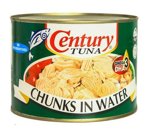 CENTURY TUNA CHUNKS IN WATER 1705G FS