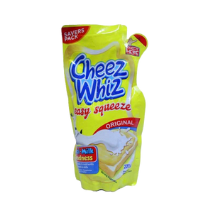 CHEEZ WHIZ ORIGINAL EASY SQUEEZE 220G