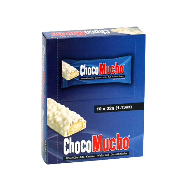 CHOCO MUCHO MILK CHOCOLATE WAFER ROLL 30GX10