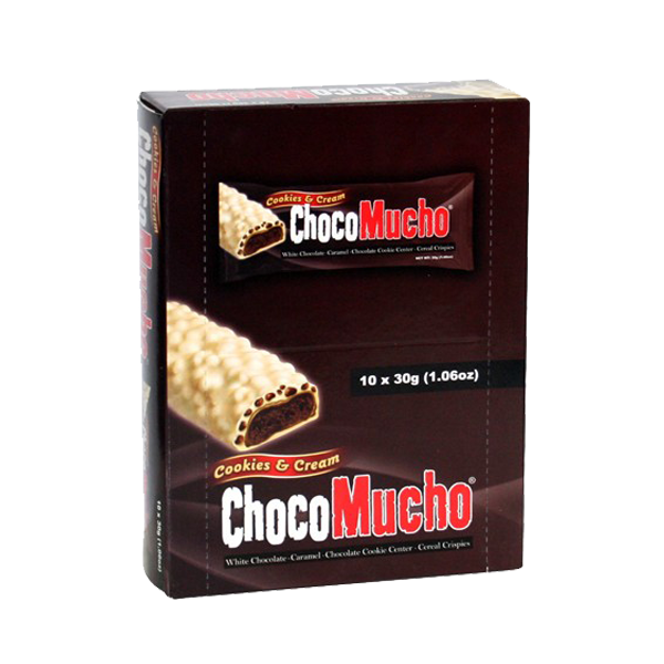 CHOCOMUCHO COOKIES N CREAM 30GX10S