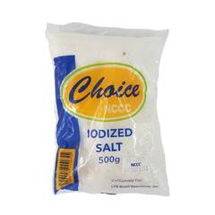 CHOICE IODIZED SALT 500G